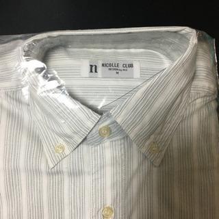 【未使用・訳あり】ワイシャツ4枚 白系 サイズM