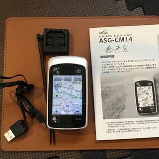 ユピテル 地図、サイクルコンピューター ASG CM14