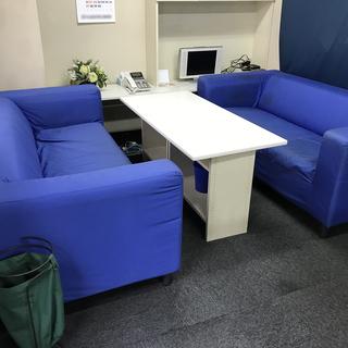 IKEA 2人掛けソファ KLIPPAN 2脚