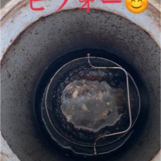 室内排水管高圧洗浄です。安い、安心、丁寧