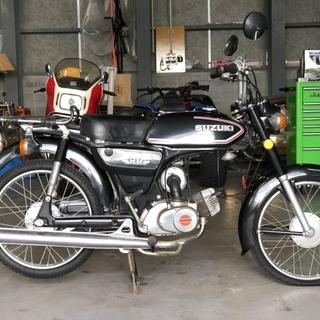 スズキ K50 11型 ヴィンテージ レトロ バイク 書類…