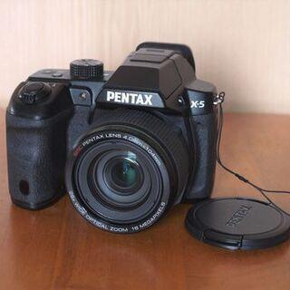レンズ一体型デジタルカメラ ペンタックスX5(美品)