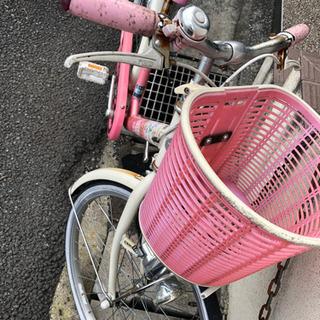 子供用自転車 ピンク ブリジストン 22インチ