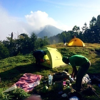 明日(8月1日土曜日)田代運動公園(神奈川県愛川町)でキャンプ!
