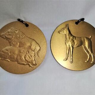日曜表メダル(2枚)