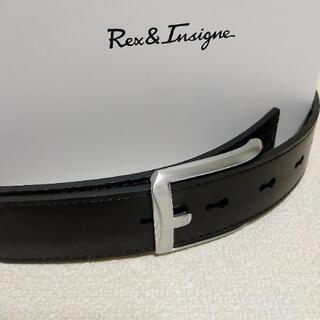 Rex&lnsigne ベルト メンズ 両面用 バックル2個