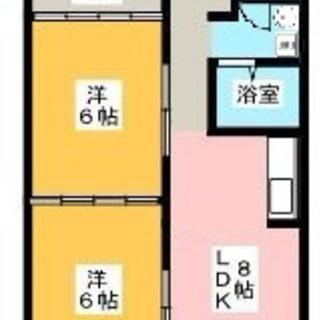 🌸猫ちゃん飼育可🐱🌸角部屋リノベーション2LDK😊エアコン 2...