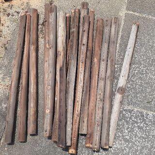 薪にいかが? 丸太( 解体木材 )無料