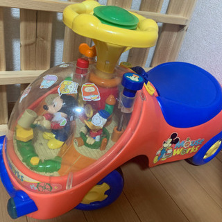 取引決定!ディズニー 車 子ども 赤ちゃん 足漕ぎ