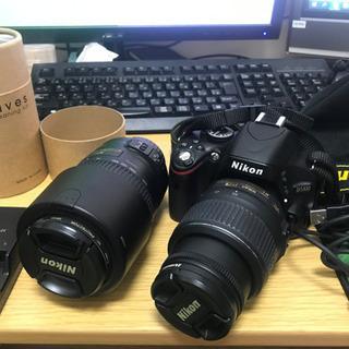 Nikon D5100 一眼レフカメラ初心者向けセット! …