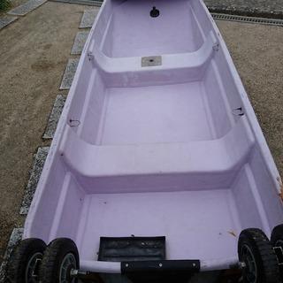 小型ボート、フットエレキ、魚探、セット、FRP仕様、釣り、河川、海