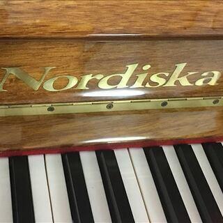 アップライトピアノ Nordiska(ノルディスカ)猫足 マホガニー
