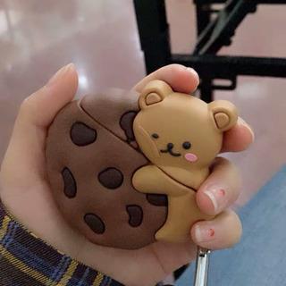 airpods の収納ケース カバー チョコクッキー