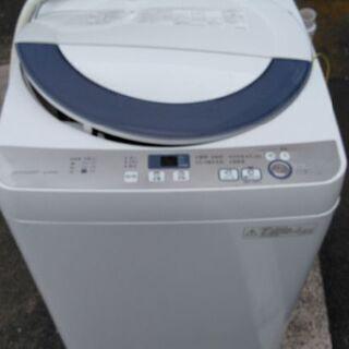 今日まで!SHARP5.5kg洗濯機 16年製