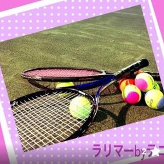 暑さに負けずテニスしましょう
