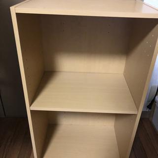 本棚(仕切り板1枚の1つ目)
