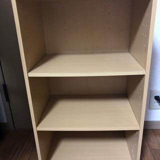 本棚棚(仕切り板2枚2つ目)