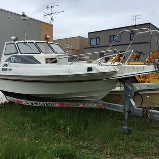 札幌市清田区 ヤマハプレジャーボート SRV トレーラ付き
