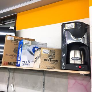 コーヒーメーカー入荷しました!