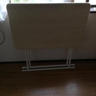 折りたたみ 机 テーブル - 家具