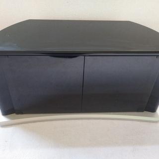 テレビボード 黒色 91×38×45 コーナー用にも