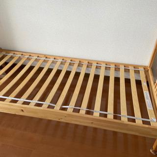 ikea シングル ベッド
