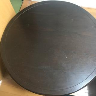 丸テーブル  大きめです