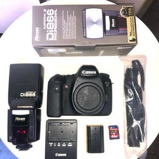8月10日までの限定Canon EOS 6D Nissin Di...