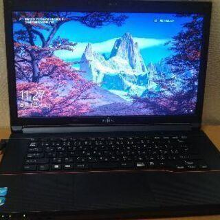 美品‼windows10ノートパソコンwebカメラ付き高画質HD...