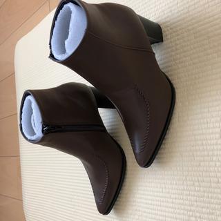 新品 titivate ショートブーツ ブラウン Mサイズ