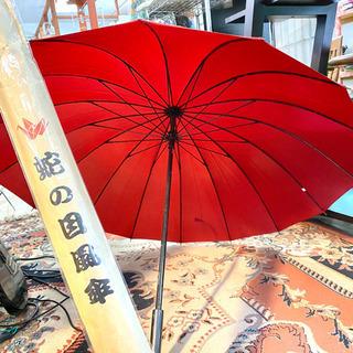 水に濡れると鶴が浮き出る傘