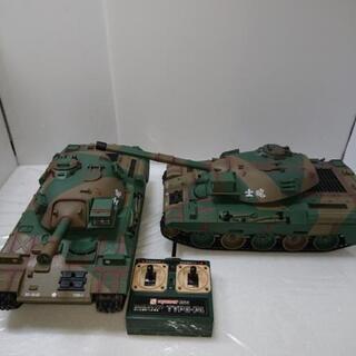 ラジコン 戦車 2台