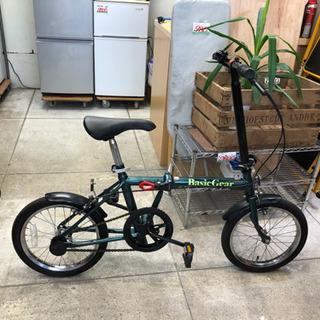 Basic Gear 折りたたみ自転車 16インチ ミニベロ