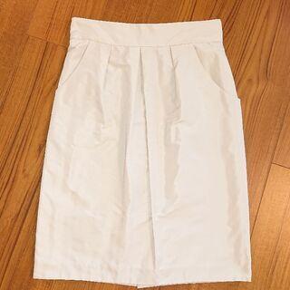 COUP DE CHANCE 白スカート