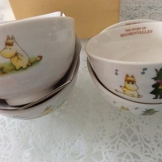 未使用 ムーミン 茶碗