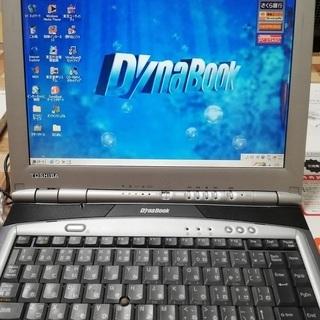古いノートパソコン 東芝dynabook DB65C/4RCモデ...