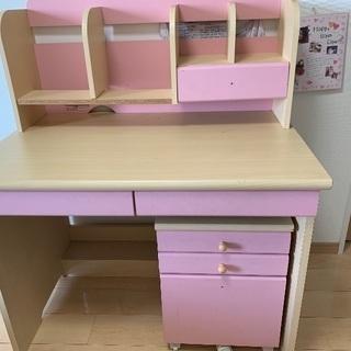 子供用(女の子)勉強机