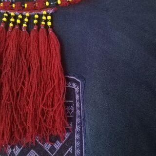 藍染め ジャケット 手縫い 少数民族