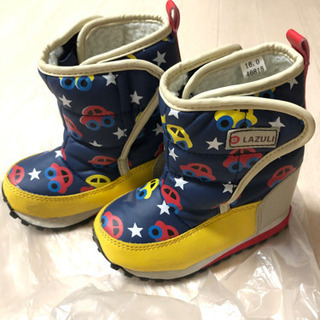 冬靴16cm(車柄