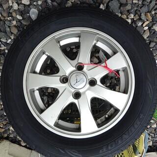 ダンロップ 175/65R14 タイヤ&アルミホイール4本セット