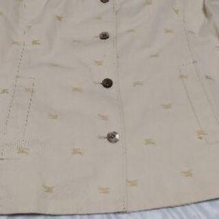 夏にも着られる、オシャレなバーバリーのジャケット