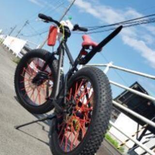 BMX ファットバイク カスタム
