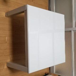 コタツ&テーブル 木製 白