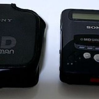 SONYのMDプレーヤー