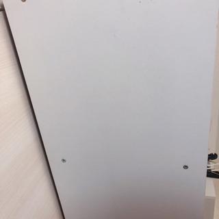 【汚れ有り】【リメイク用】白色 2段カラーボックス - 家具