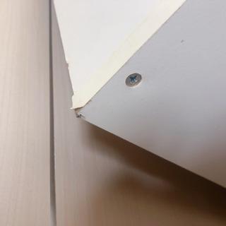 【汚れ有り】【リメイク用】白色 2段カラーボックス - 売ります・あげます