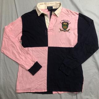ラルフローレン  ラガーシャツ  ポロシャツ メンズ Lサイズ