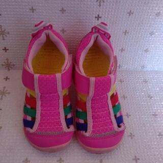 子供靴17cmIFMEイフミースニーカーサンダル