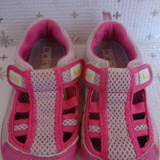 子供靴17cmケンアンドウィニースニーカーサンダル