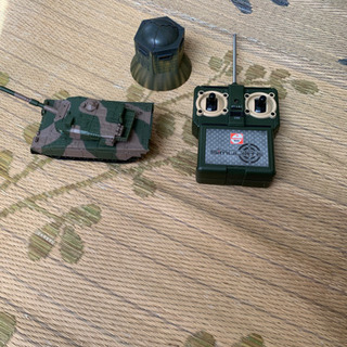 ラジコンの戦車